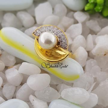Real Pearl Ladies Ring