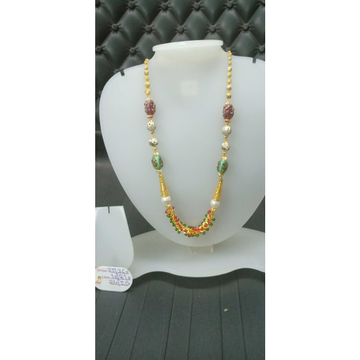 22 Ct Gold Rear Fancy Mala
