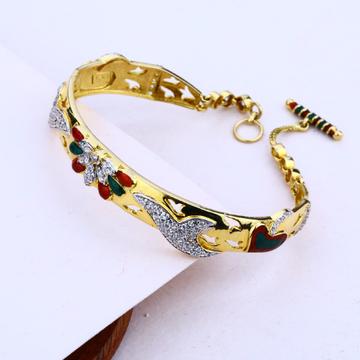 Ladies 18K Gold Italian Bracelet-LIB25