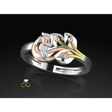 Rose Gold Peacock & Duck Toe Ring Bichiya(Vichiya) Ferva Ms-2488
