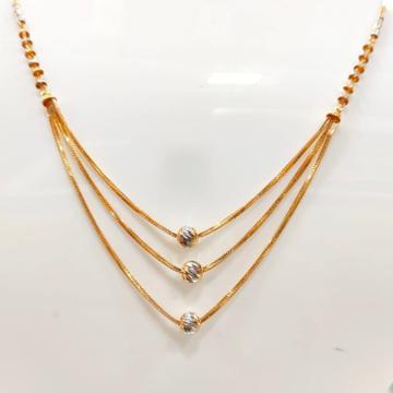 22 Carat gold ladies pendal chain RH-CH122