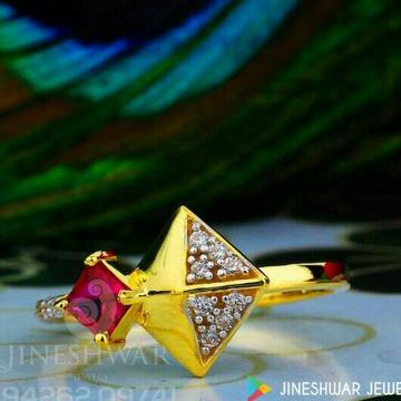 Unique color stone cz ladies Ring LRG -0199