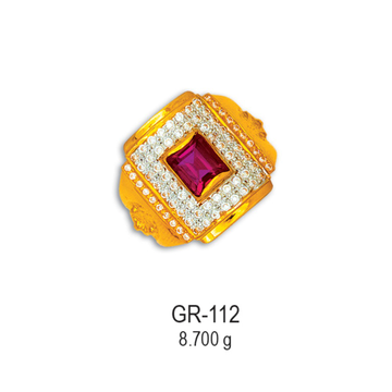 916-CZ-Gold-Fancy-Gents-Ring-GR-112