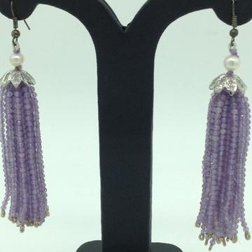 Purple AmethystStones Ear Chandelier HangingsJER...