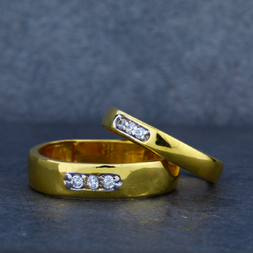 22ct Gold Fancy Couple Ring-CR22