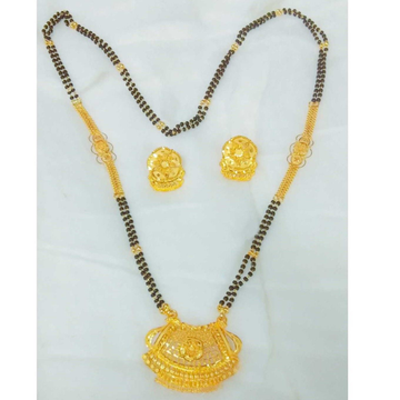916 CLASSY YELLOW GOLD MANGALSUTRA MS0001
