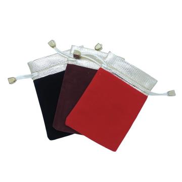 Velvet pouch