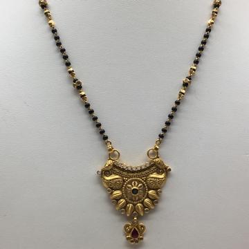 916 gold vilandi mangalsutra