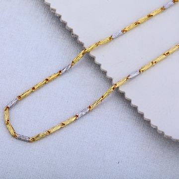 916 Gold Stylish Choco Chain MCH137