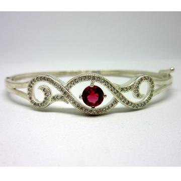 Silver 925 pink stone classic bracelet sb925-5