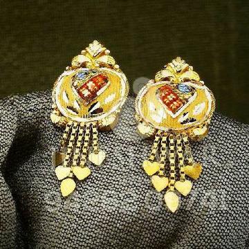 916 Gold Designer Kalkatti butti