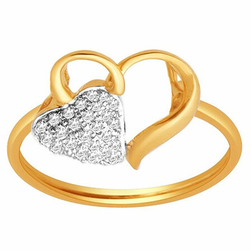 18k gold real diamond ring mga - rdr0035