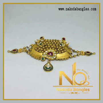 916 Gold Antique Bajubandh NB-347