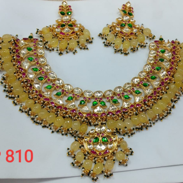 kundan wedding neckless 330
