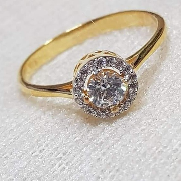 22 carat gold ladies fancy diamond ring RH-GR354