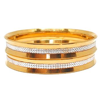1 gram gold forming designer bangles mga - bge0416