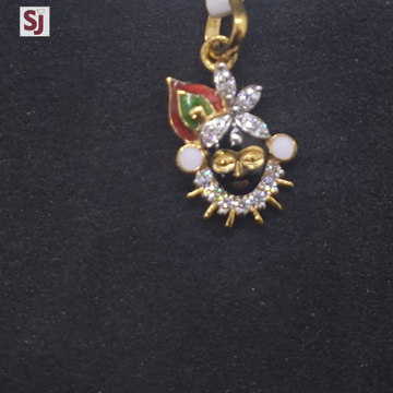 Shrinathji Pendant PNG-0215