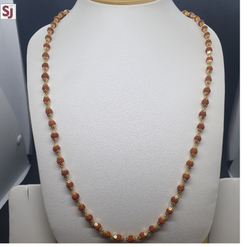 Rudraksh Mala RMG-0038 Gross Weight-19.890 Net Weight-16.690