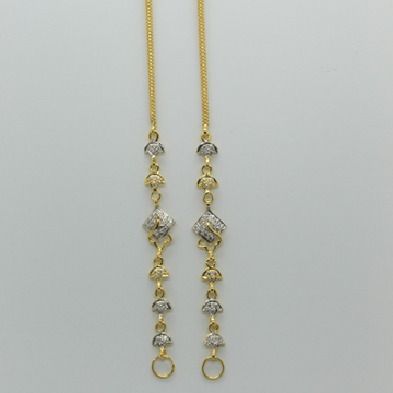 22k/916 Gold Fancy earchain