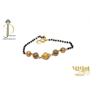 22KT / 916 Gold Mangalsutya Bracelet For Ladies LB... by