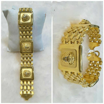 916 Gents Fancy Gold Ganpati Lucky G-9607
