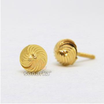 22kt 916 Yellow Gold Spiral Design Tops