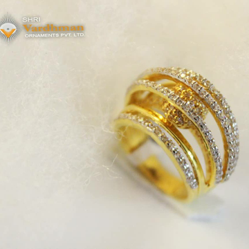 22ct(916) CZ LADIES RING by