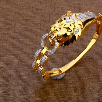916 Gold Mens Kada Bracelet MKB20