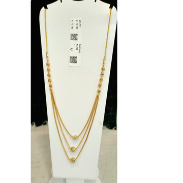 22KT Gold Hallmark 3Layer Mala