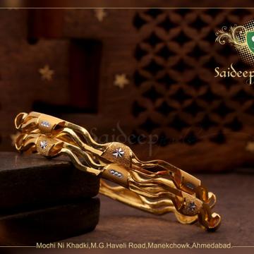 916 22 kT New design kadli bagadii by Saideep Jewels