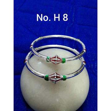 Cholel Plastic Mina New Look Bol Amdavadi Kadli(Kangan,Kada,Bangle) Ms-2314
