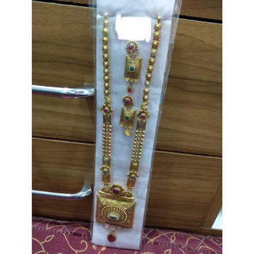 916 Mangalsutra With Earrings by Prabhat Jewellers