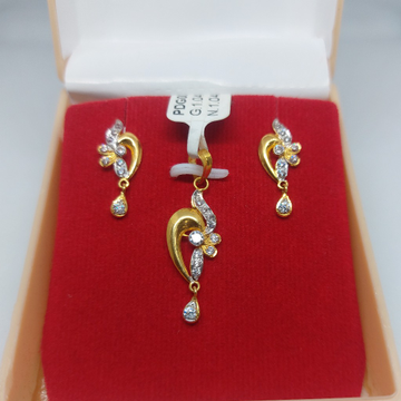 22k daily wear p set by Parshwa Jewellers