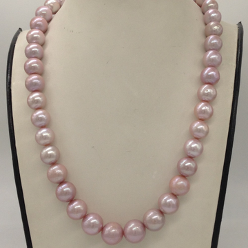 Freshwater Pink Adison Round Pearls Single Layer M...