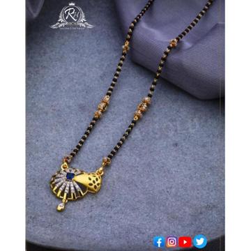 22 carat gold traditional mangalsutra RH-MN578