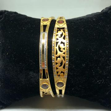 916 gold copper kadli bangle vn-b01