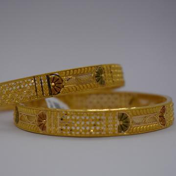 22kt Gold Calcutti Bangeld by