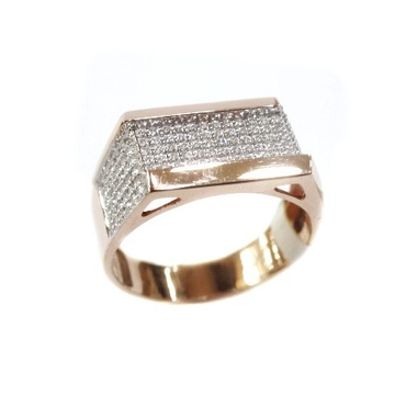 18K Rose Gold Ring MGA - RGR003