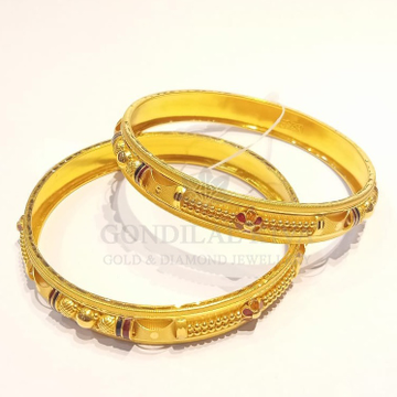 20kt gold bangle gbg52