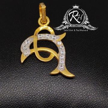 22 carat gold fish peandal RH-PL536
