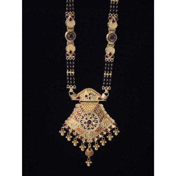 22 K Gold Antique Mangalsutra. NJ-M01119