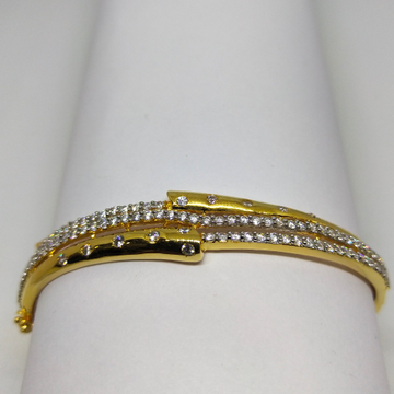 22K Diamond and gold shining bracelet