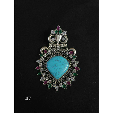 92.5 Sterling Silver Fancy Pendant Ms-2951