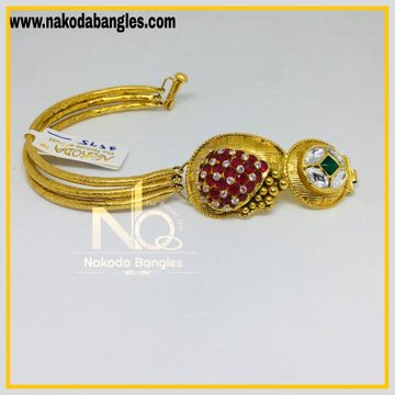 916 Gold Antique Kada NB - 470