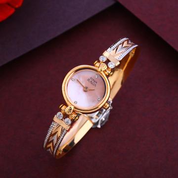 750 Rose Gold Designer Ladies Watch RLW274
