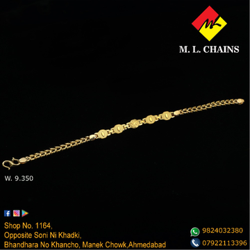 916 Gold Gents Lucky ML-B03