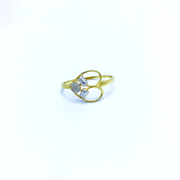 REAL DIAMOND FANCY HEART SHAPE RING by