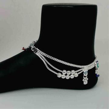 exclusive ladies antique payal by Prakash Jewellers