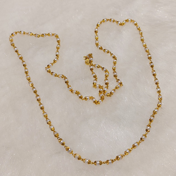 Gold Moti Mala by