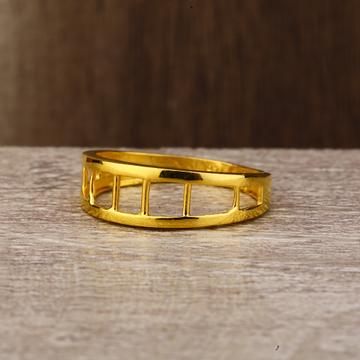 Ladies 916 gold Roung Ring -LPR136